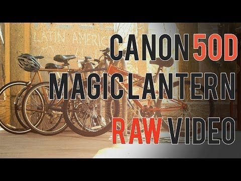 Canon 50D Magic Lantern RAW Review - YouTube