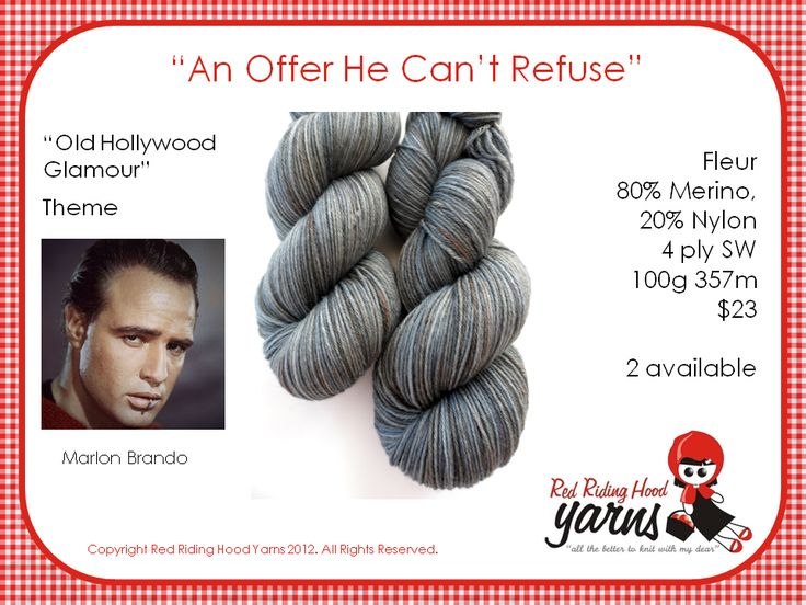 An Offer He Cant Refuse - Old Hollywood Glamour | Red Riding Hood Yarns