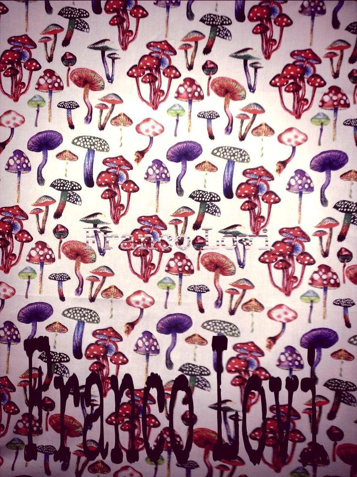 Autunno: tempo di funghi!  Autumn: a time of mushrooms!  #Franco #Lovi #camicie #camicia #shirt #MadeinItaly #Italia #Italy #CamiciaiDal1938 #Campania #Napoli #Salerno #Fashion #Design #SuMisura #Sartoria #Italiana #autunno #funghi #autumn #mushroom #рубашка #осень #popeline #stampe