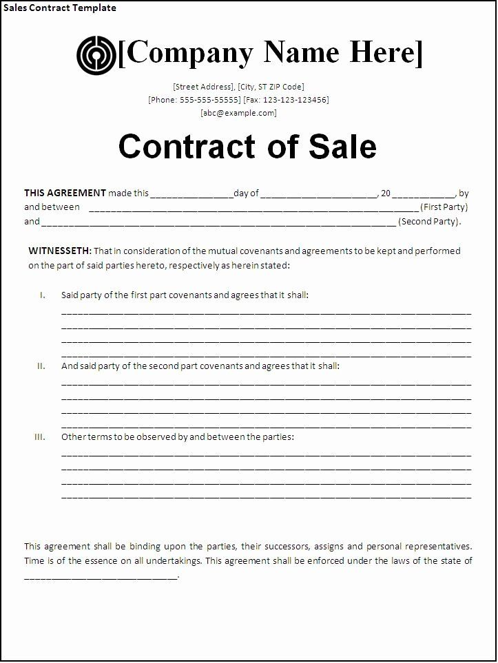 Purchase Agreement Template Word Luxury Sales Agreement Template Word Contract Template Business Agreement Template Agreement Letter