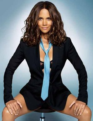 I've been known to wear a neck tie from time to time. Halle does it best though!