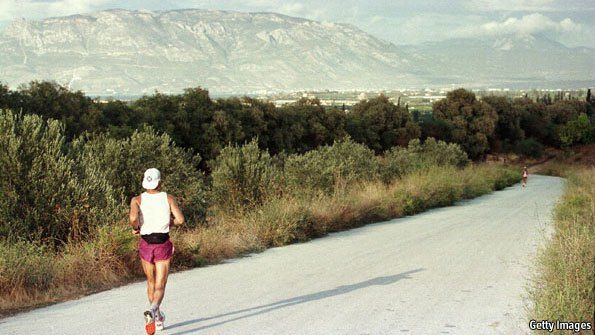 The Oddity of the Long Distance Runner