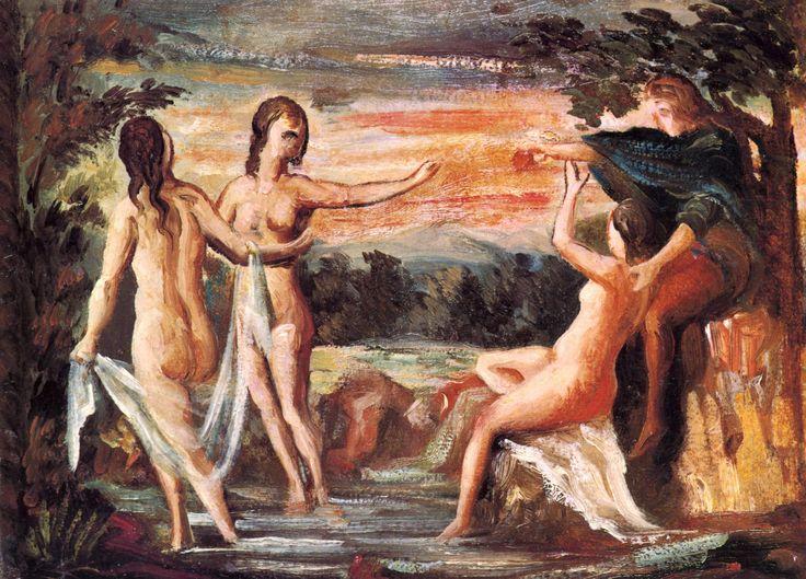 The Judgement of Paris by Paul Cezanne #romanticism