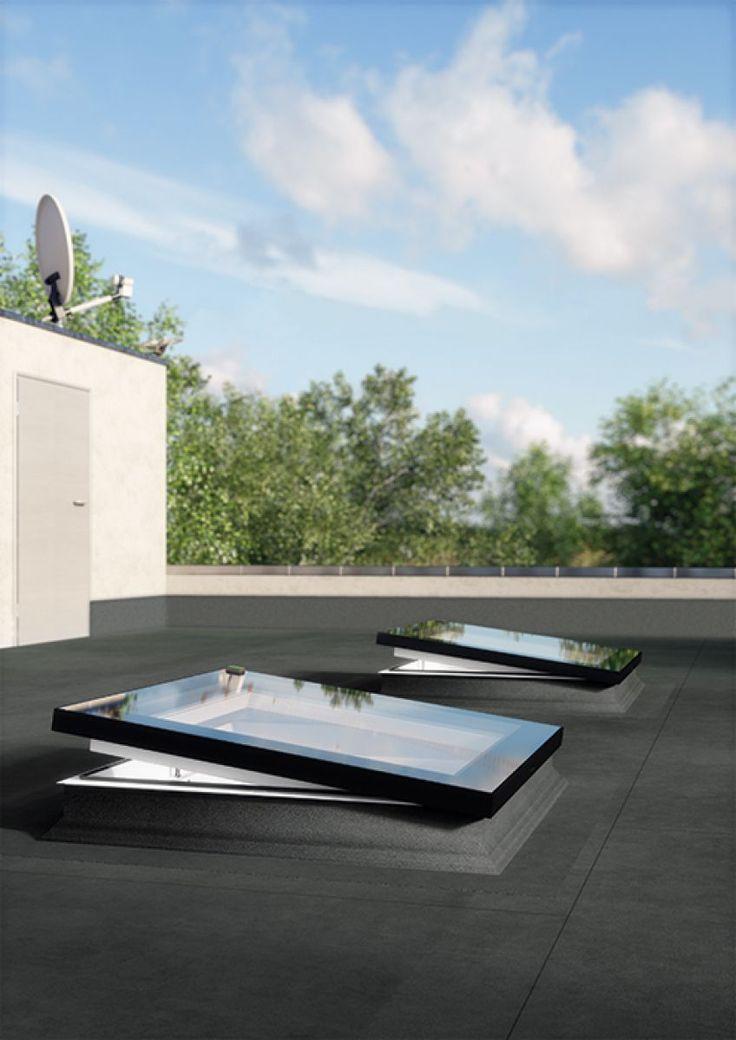 Finestre per tetti piatti tipo F - FAKRO