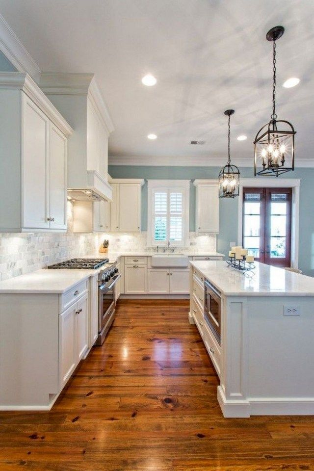 110 Lovely White Kitchen Cabinet Design Ideas Page 105 Of 108 In 2020 Kitchen Remodeling Projects Kitchen Remodel Small