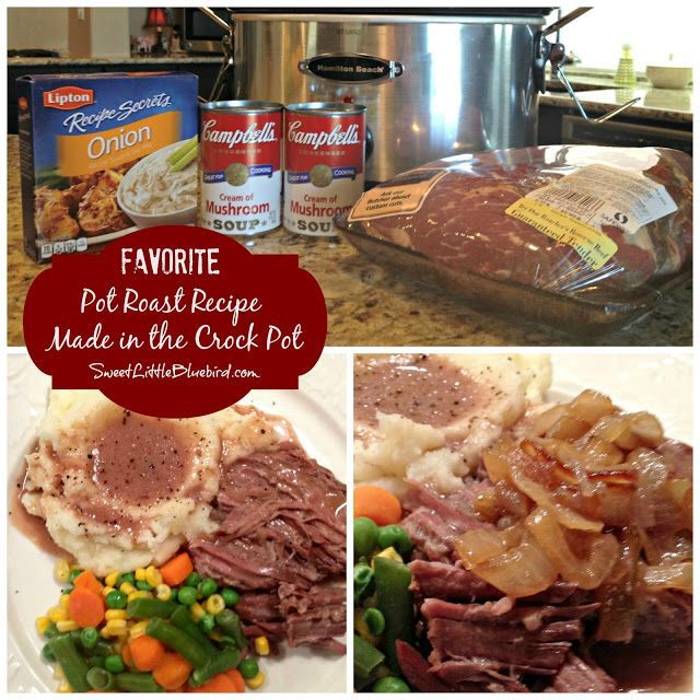 Favorite Pot Roast Recipe - Made In The Crock Pot