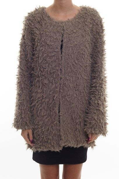 IZABEL JAKKE warm fluffy coat.