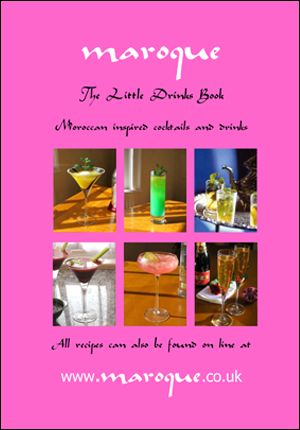 Free Cocktail Book •    Tempting and delicious – try some of these 'easy to mix' exciting Moroccan inspired cocktails and mocktails •    Compliment with some simple 'easy to make' nibbles recipes - a perfect combination •    Learn about the art of making truly refreshing Moroccan mint tea