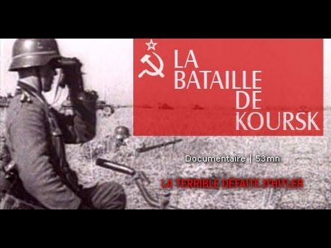 La bataille de Koursk, l'authentique histoire de cette bataille ! https://www.youtube.com/watch?v=vHeBfSZDUVc
