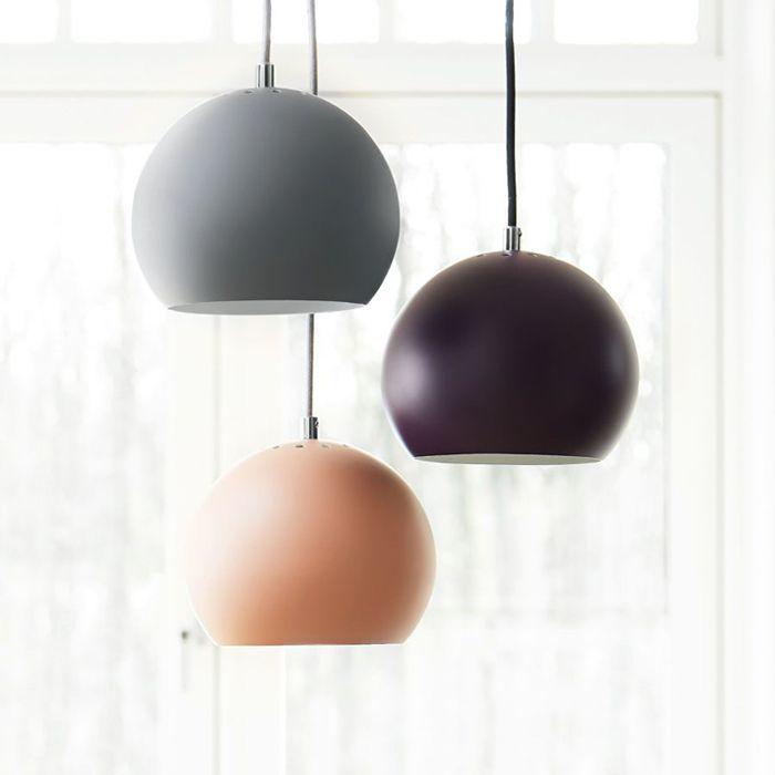 Frandsen Ball Pendel Matt | Designbelysning.no
