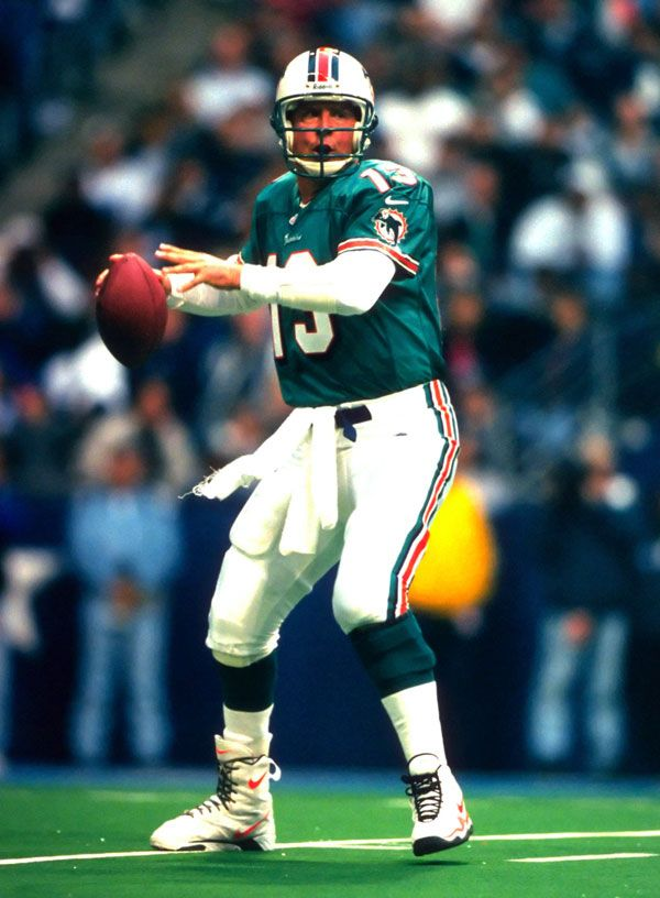 Dan Marino is one of the greatest quarterbacks to every play football, yet not win a superbowl. I play for the football team as it is one of my favorite sports.
