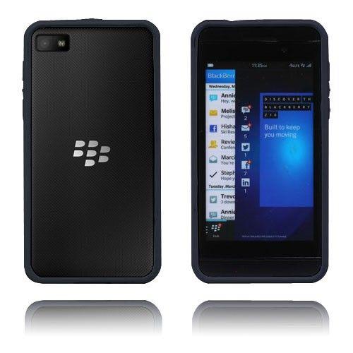 Anti-Shock (Musta) BlackBerry Z10 Suojakehys