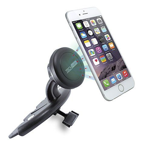 Car Mount TechMatte MagGrip CD Slot Magnetic Universal Car Mount Holder for Smartphones including iPhone 6, 6S, Galaxy S6, S6 Edge - Black TechMatte http://www.amazon.com/dp/B00V54LQO4/ref=cm_sw_r_pi_dp_pYxMwb0555TD0