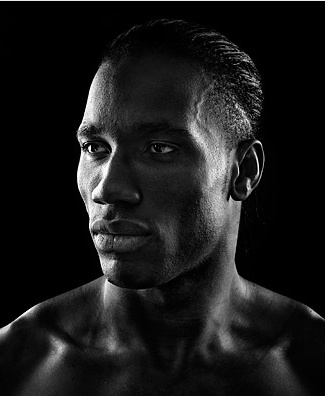 Great portrait of Didier Drogba
