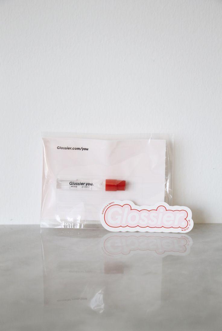 Glossier Fragrance Sample + Scratch & Sniff Sticker