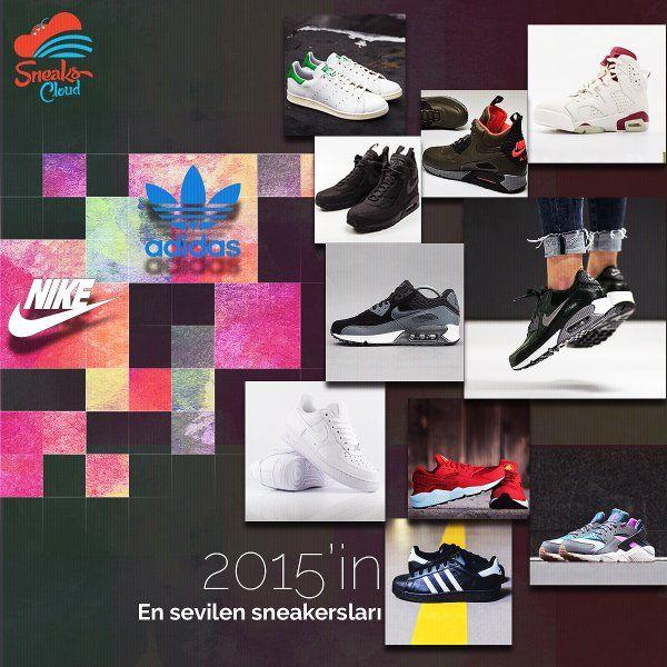 2015'de en çok bu sneakersları seçtiniz. İtiraf etmeliyiz, biz de en çok bu sneakersları seviyoruz ♥