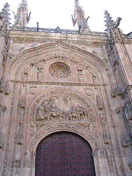 OVNI, ¿Mitologia o Realidad?: El astronauta de la catedral de Salamanca.