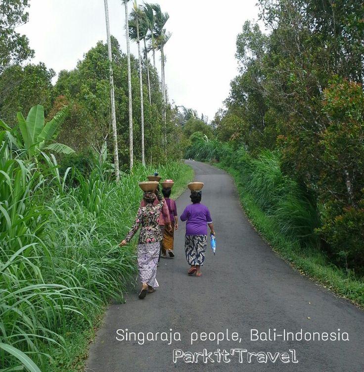 Balinese people in Singaraja