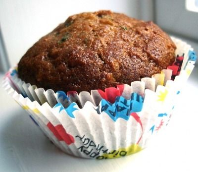 Zucchini Muffins Recipe  Kids won't notice the vegetables in these yummy zucchini muffins. They can have fun helping you make them, too!