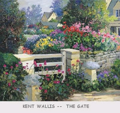 Simple Flower Garden Paintings 83 best kent wallis art images on pinterest | wallis, paintings