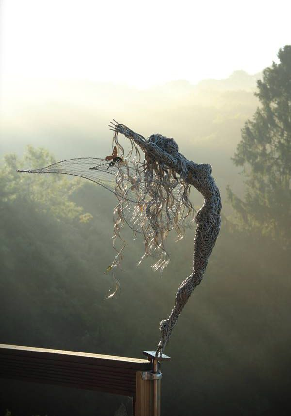 Robin Wight - Wire Fairy Sculptures