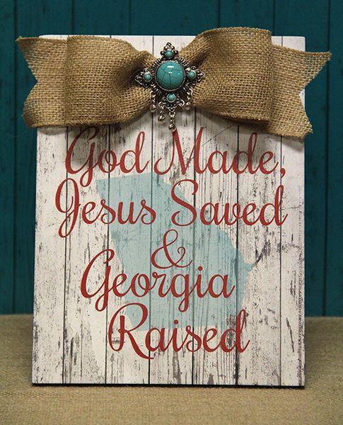 God Made, Jesus Saved,