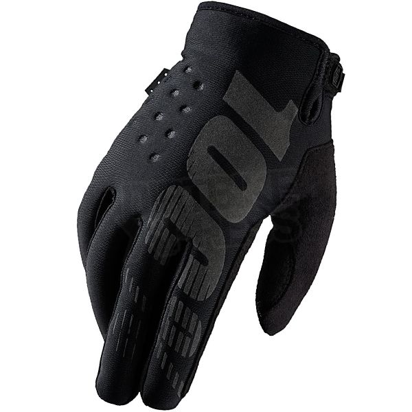 2016 100% Brisker Cold Weather Gloves - Black