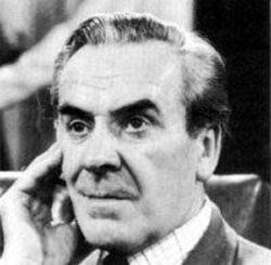 """John Le Mesurier, best known as Sgt Wilson in """"Dad's Army"""" but also known for """"Hancock's Ha;f Hour."""" Once married to Hattie Jacques."""
