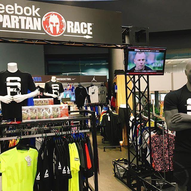 スパルタンレースのギアがたくさん!  #スパルタンレース#spartanrace #spartan#reebok#bemorehuman #人間をきわめろ #トレーニング#筋トレ#筋肉#肉#ジム#gym#フィットネス #fitness #ワークアウト #workout #ランニング #マラソン  #池袋#ヴィクトリアスポーツ
