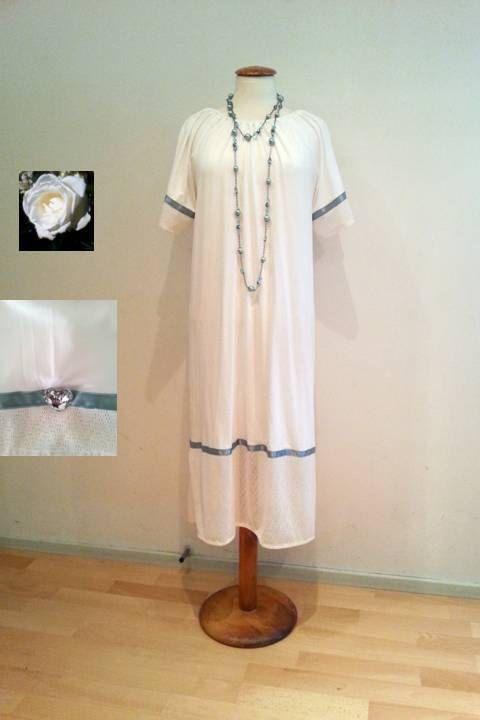 White tunic dress sale white lace dress lace by WalinaWebshop