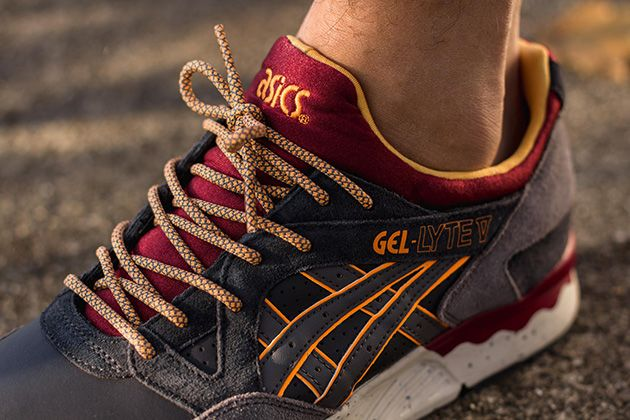 Asics Gel Lyte V-Dark Grey-Grey-1