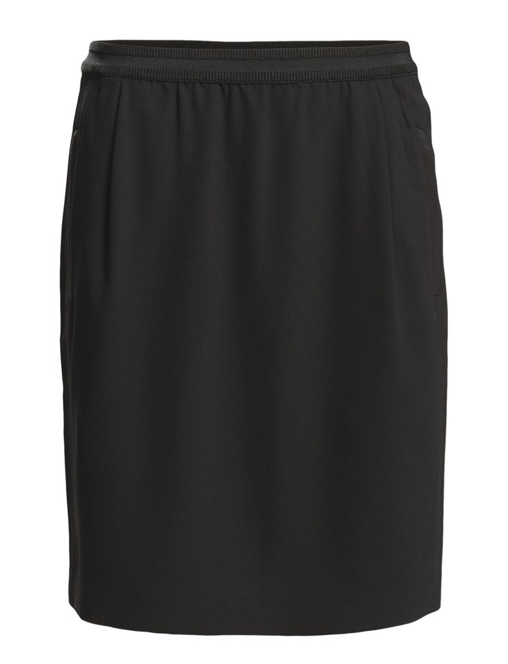 DAY - Day Classic Gabardine Centre back seam Ribbed detail Two welt pockets Elastic waistband Vent at the back hemline Office wear Simple and innovative Timeless