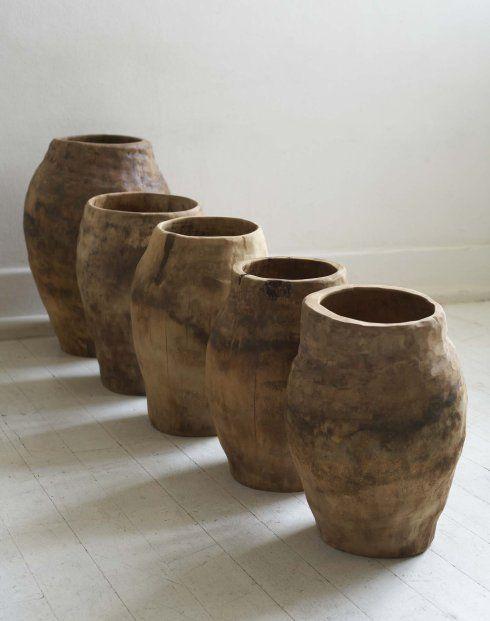 artafrica: Karooworx, vessels made from sisal wood