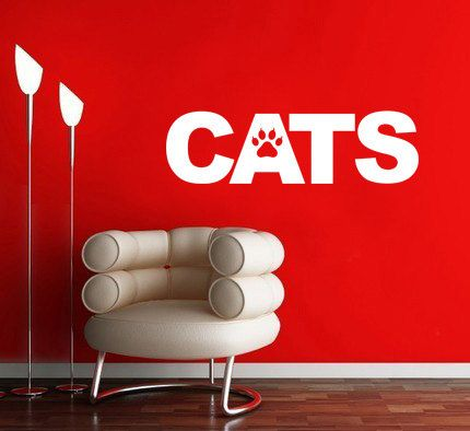 CATS - Wall Decal, Pets