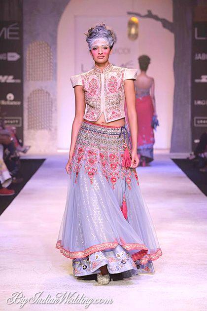 Anju Modi designer lehenga collection #lehenga #choli #indian #shaadi #bridal #fashion #style #desi #designer #blouse #wedding #gorgeous #beautiful