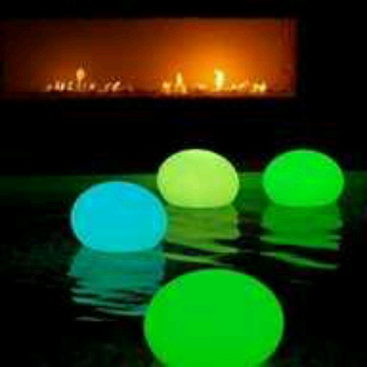 Put glow sticks in a balloon at