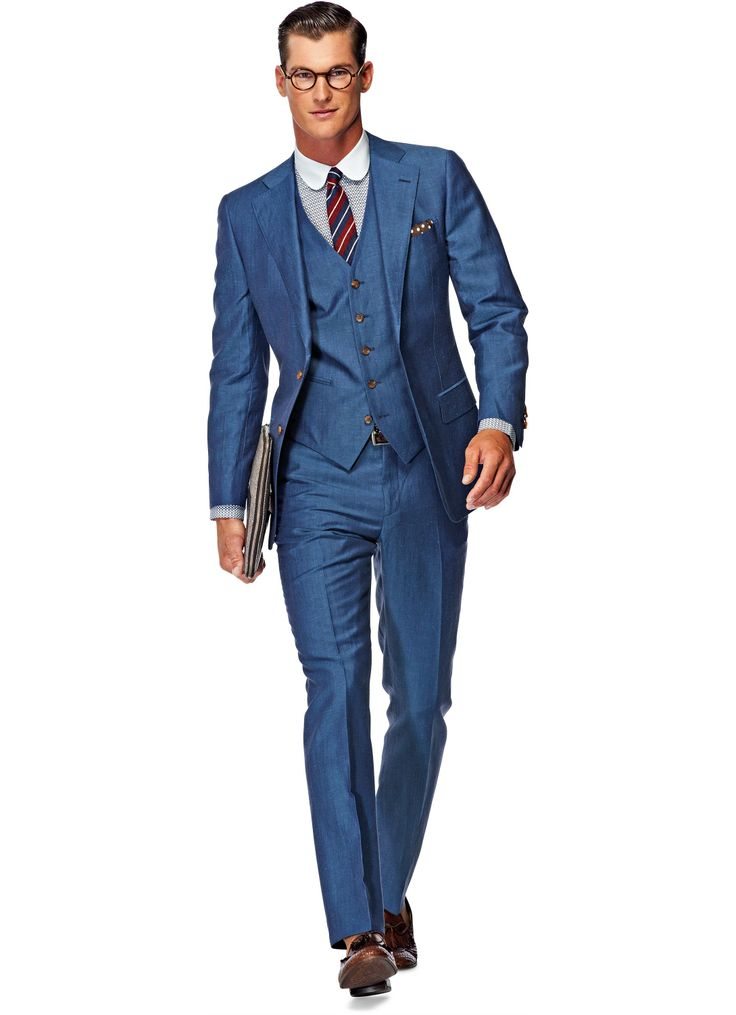 Suit Light Blue Plain Lazio P3568i | Suitsupply Online ...
