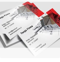 Business card for architect