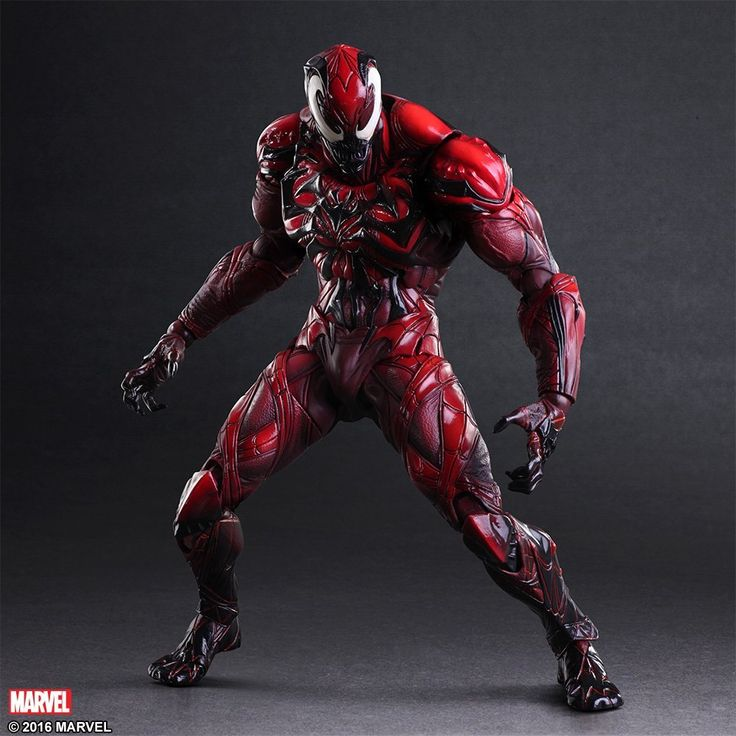 MARVEL UNIVERSE VARIANT PLAY ARTS改 ヴェノム LIMITED COLOR VER. PVC製 塗装済み可動フィギュア