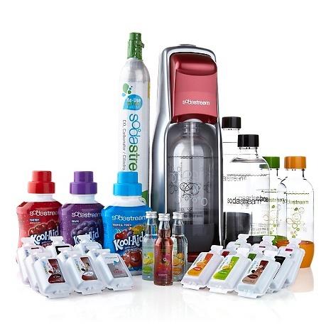 SodaStream Fountain Jet Complete Soda Maker Kit
