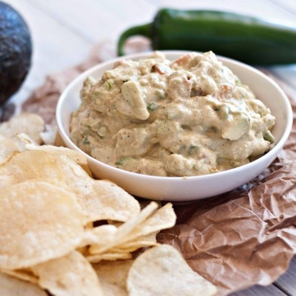 Crab guacamole from @Jackie Dodd {Domestic Fits}
