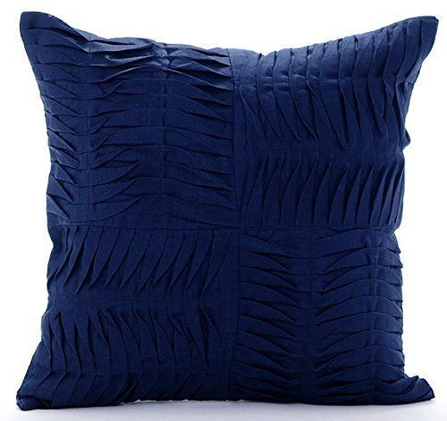 Designer Navy Blue Decorative Pillow Cover, Modern Patchw... https://www.amazon.com/dp/B016H8YQE4/ref=cm_sw_r_pi_dp_x_F-2DybVXF4GD9