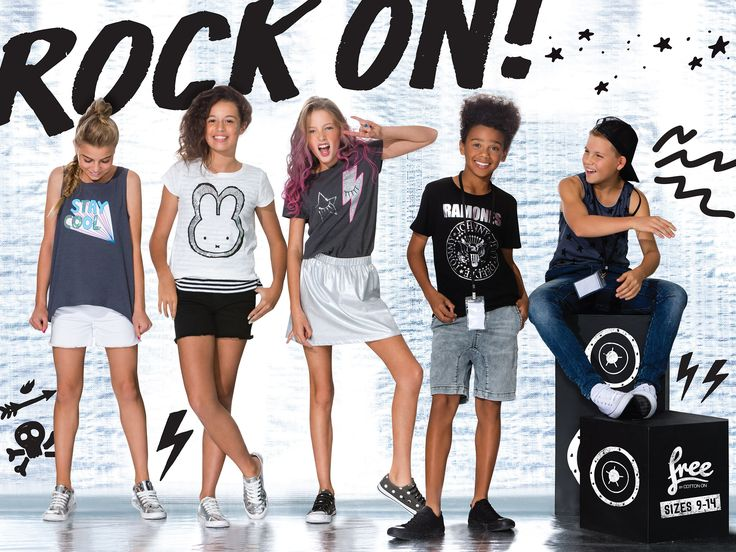 ROCK ON! Free by Cotton On's NEW Rock Range is in stores now!