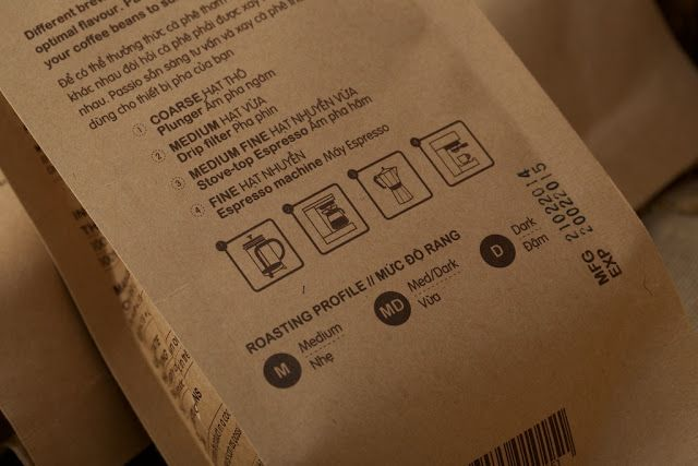 Passio Coffee Beans on Packaging of the World - Creative Package Design Gallery