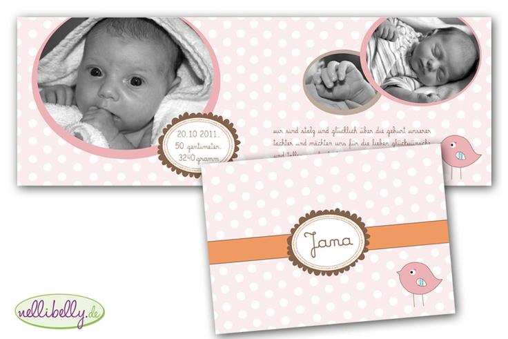 individuelle babykarte   geburtskarte