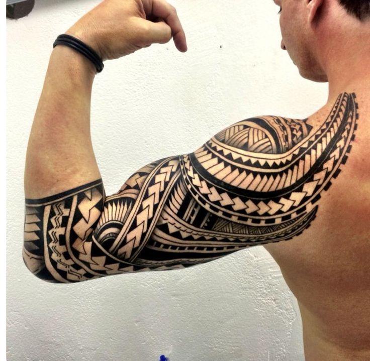 8 best maori polynesia tattoo 39 s men brust schulter. Black Bedroom Furniture Sets. Home Design Ideas