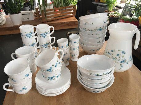 Vaisselle Arcopal Veronica #tableware #arcopal #vintagedecor #vintage #kitchen