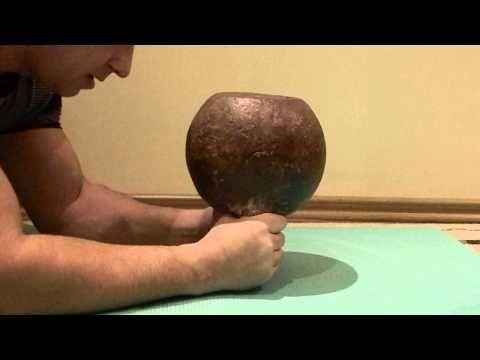 Wrist deadlift Kettlebell/Кистевая тяга гири весом 32кг - 70 раз (упражнения с гирей) - YouTube