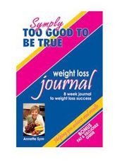 8 WEEK WEIGHT LOSS JOURNAL. Keep track of your calories each day with this pocket-sized journal.