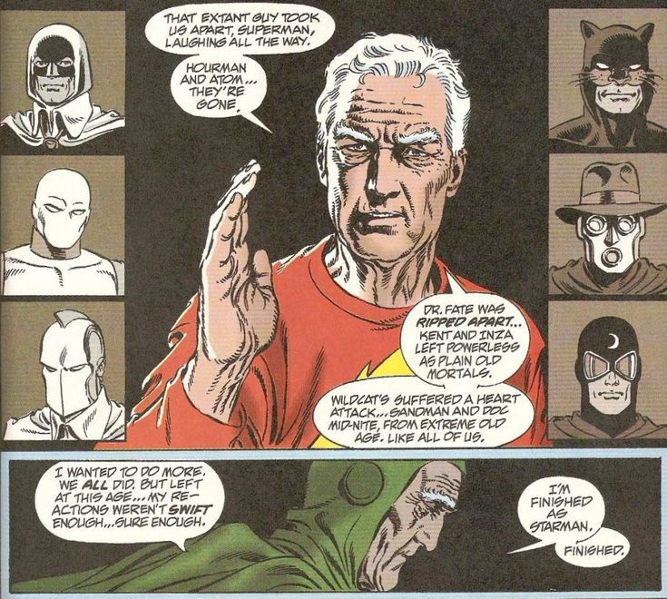 DC Histories: Justice Society of America